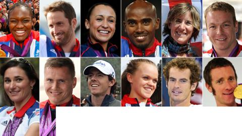 12 SPOTY contenders