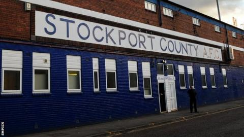 Edgeley Park, home of Stockport County