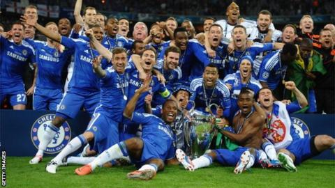 Chelsea win Champions League