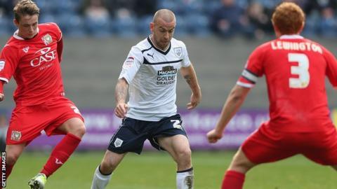 Preston North End full-back Keith Keane