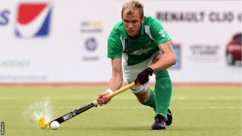 Conor Harte scored two of Ireland's goals on Thursday