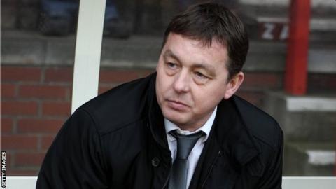 Scottish manager Billy Davies