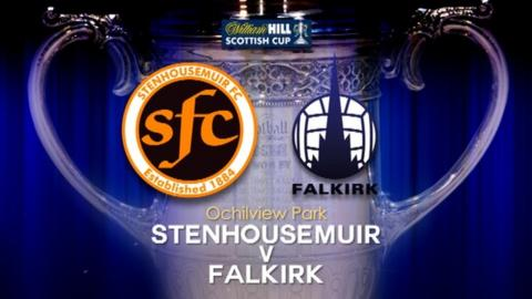 Highlights - Stenhousemuir 0-1 Falkirk