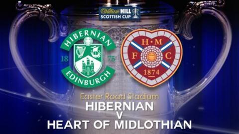 Hibernian v Heart of Midlothian