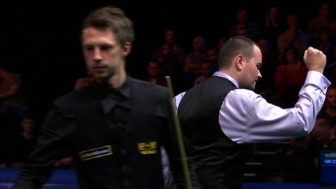 Judd Trump and Mark Joyce