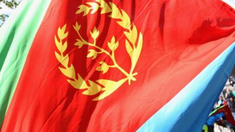 Eritrean flag