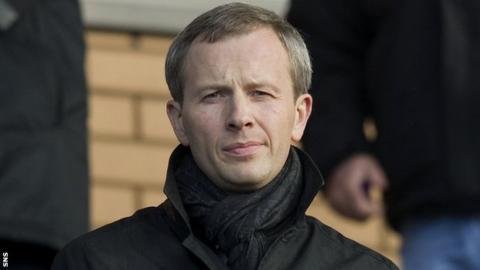 Hearts director Sergejus Fedotovas