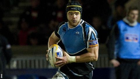 Glasgow Warriors lock Tom Ryder