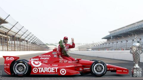 Three-time Indy 500 winner Dario Franchitti