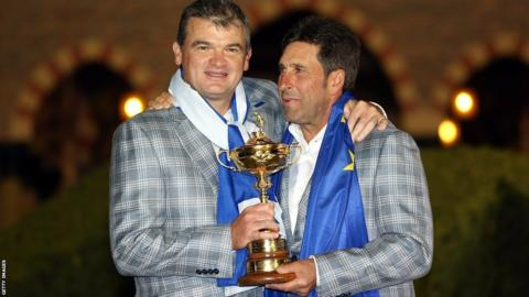 Paul Lawrie helped Europe team captain Jose Maria Olazabal defeat the United States in a thrilling Ryder Cup at Medinah, near Chicago.
