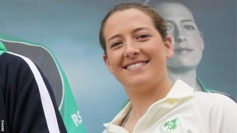 Ireland women's captain Isobel Joyce