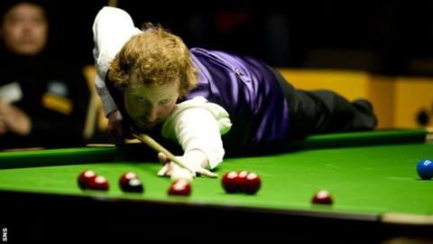 Anthony McGill lost the Scottish Open final 4-2