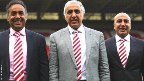 (left-right) Fawaz Al Hasawi, Abdulaziz Al Hasawi and Omar Al Hasawi
