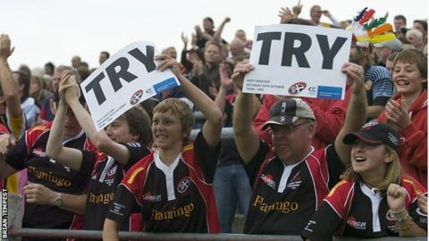 Cornish Pirates crowd