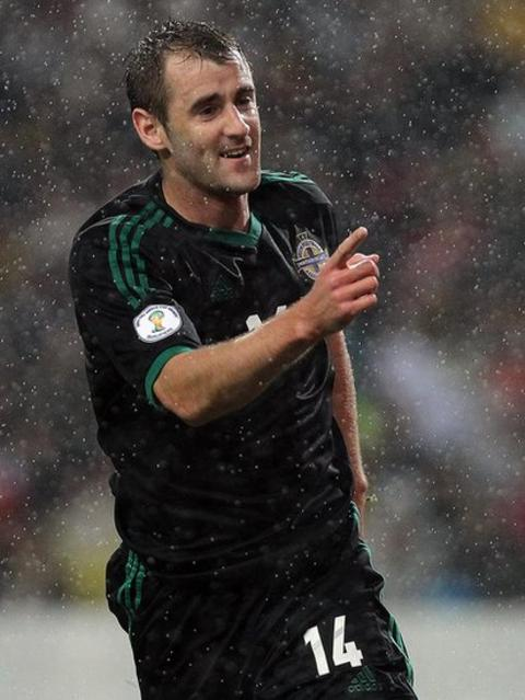 Niall McGinn fired O'Neill's team into the lead against Portugal - the team ranked third in the world in a World Cup game in October