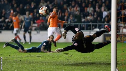 Carl Ikeme saves