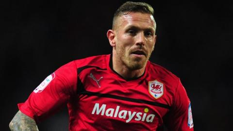 Cardiff City's Craig Bellamy.