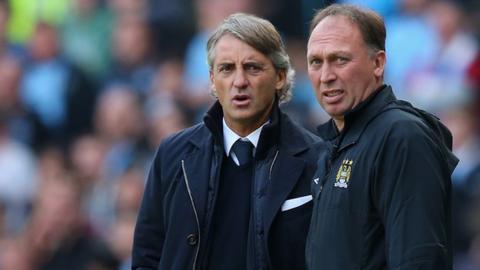 Roberto Mancini and David Platt