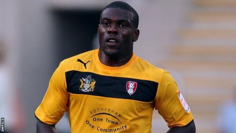 Kayode Odejayi scored Rotherham's first goal