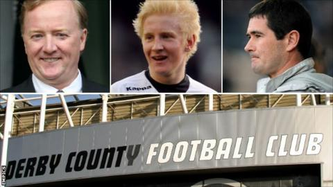 Andy Appleby, Nigel Clough, Will Hughes, Pride Park