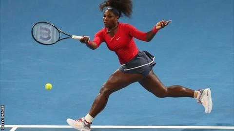 Wimbledon and US Open champion Serena Williams