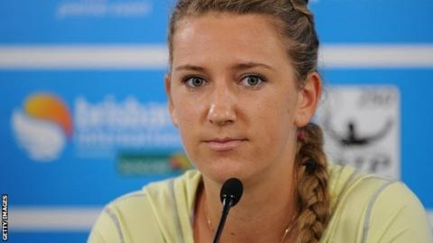Victoria Azarenka of Belarus
