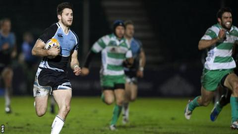 Tommy Seymour ran in a try from 90 metres