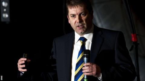 David Longmuir, SFL chief executive