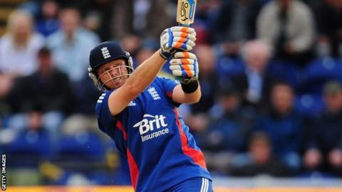 Ian Bell made 91 for England