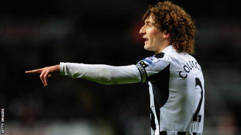 Newcastle captain Fabricio Coloccini