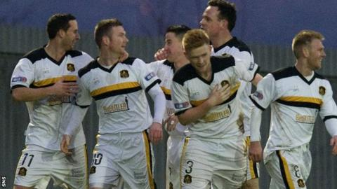 Dumbarton remain bottom of the league but are closing the gap