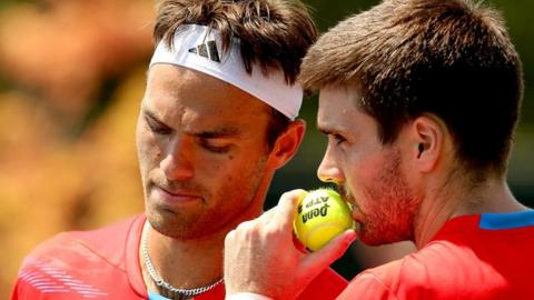 Coling Fleming and Ross Hutchins