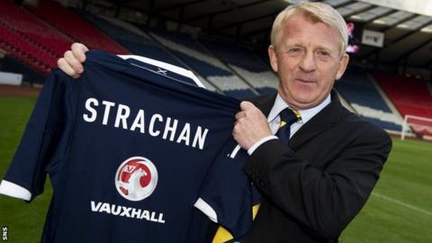 Scotland coach Gordon Strachan