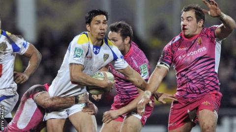 Exeter lost at Clermont Auvergne last week