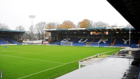 Gigg Lane, home of Bury