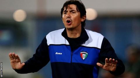 Kuwait coach Goran Tufegdzic