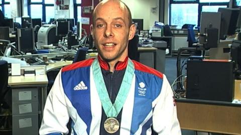 British diver Peter Waterfield
