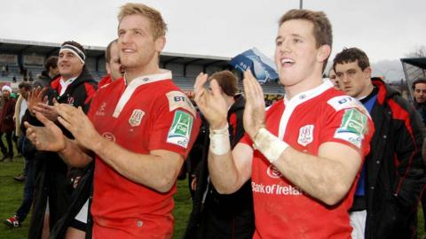 Chris Henry and Craig Gilroy