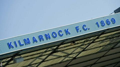 One of the stands at Kilmarnock's Rugby Park