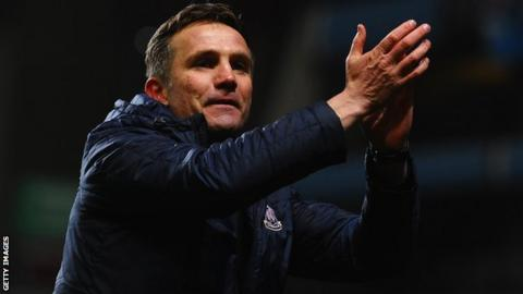 Bradford City manager Phil Parkinson