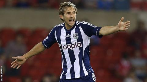 West Brom defender Craig Dawson