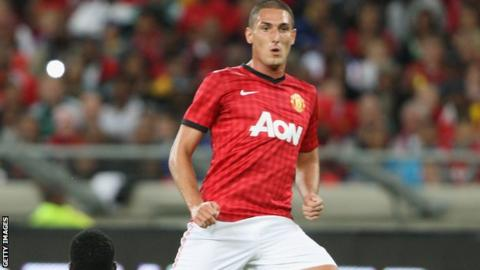 Manchester United striker Federico Macheda
