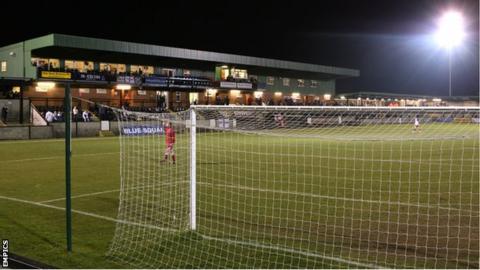 Raymond McEnhill Stadium, home of Salisbury City