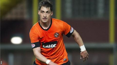 Rudi Skacel joined Dundee United on 26 October