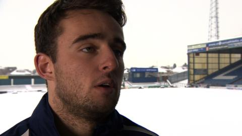 Oldham Athletic forward Jose Baxter