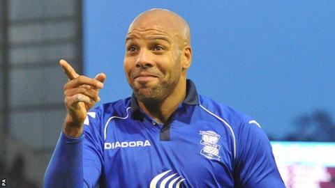 Birmingham City's Marlon King