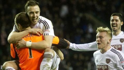 Hearts defender Danny Wilson