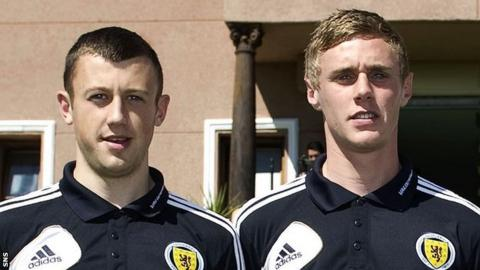 Dale Carrick and Kevin McHattie