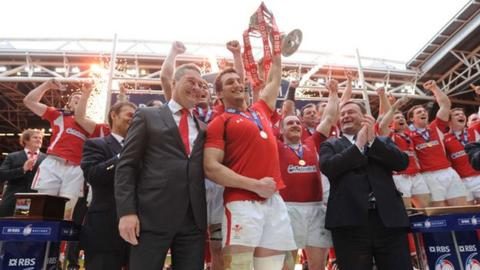 Wales win the 2012 Grand Slam