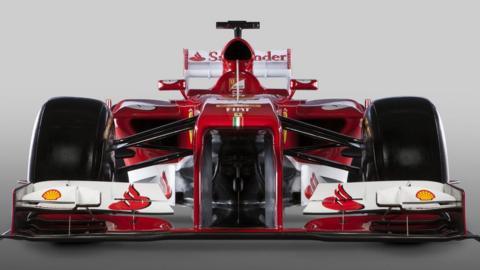 The new Ferrari F138